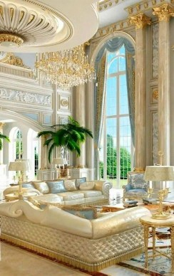 Extraordinary Luxury Living Room Ideas Which Abound With Glamour And Refinement41