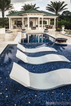 Luxury And Elegant Backyard Pool45