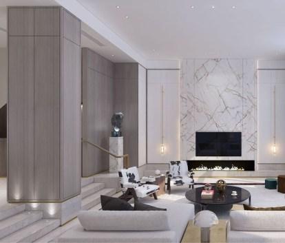 Luxury And Elegant Living Room Design08