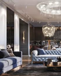 Luxury And Elegant Living Room Design18