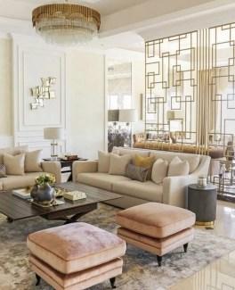 Luxury And Elegant Living Room Design31