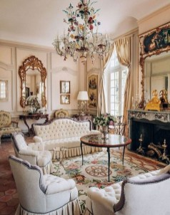 Luxury And Elegant Living Room Design33