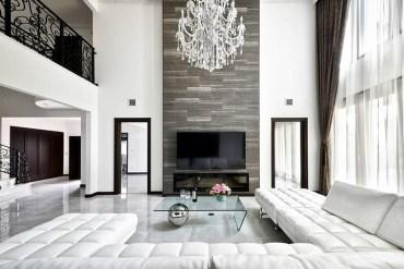 Luxury And Elegant Living Room Design36