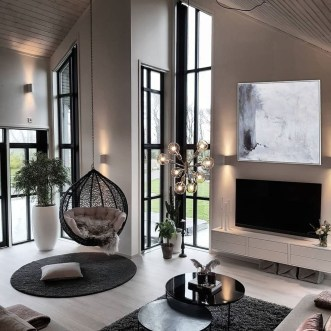 Luxury And Elegant Living Room Design41