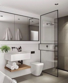 Minimalist Modern Bathroom Designs For Your Home18