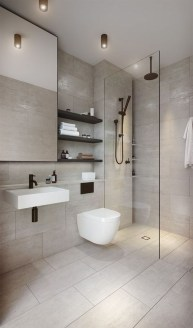 Minimalist Modern Bathroom Designs For Your Home38