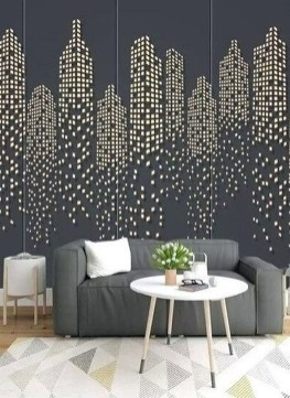 Modern Wallpaper Decoration For Living Room Ideas07