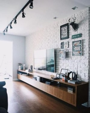 Modern Wallpaper Decoration For Living Room Ideas17