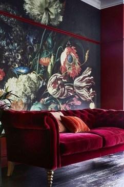 Modern Wallpaper Decoration For Living Room Ideas25