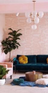 Modern Wallpaper Decoration For Living Room Ideas31