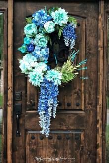 Unique And Elegant Door Decoration Ideas03