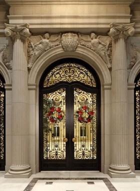 Unique And Elegant Door Decoration Ideas26