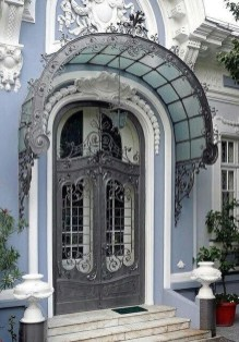 Unique And Elegant Door Decoration Ideas31