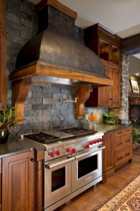 Warm Cozy Rustic Kitchen Designs For Your Cabin02