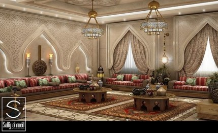 Awesome Arabian Living Room Ideas06