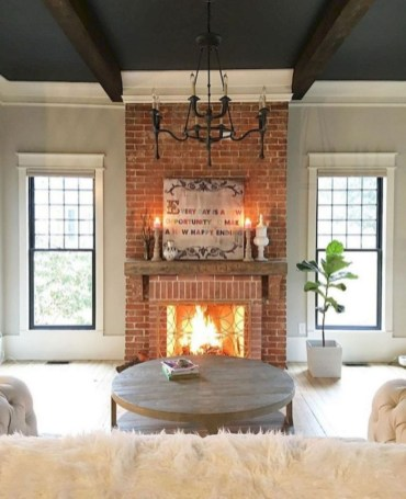 Awesome Brick Expose For Living Room07