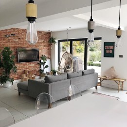 Awesome Brick Expose For Living Room10