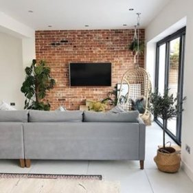 Awesome Brick Expose For Living Room11