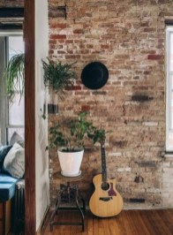 Awesome Brick Expose For Living Room17