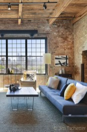 Awesome Brick Expose For Living Room19