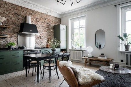 Awesome Brick Expose For Living Room28