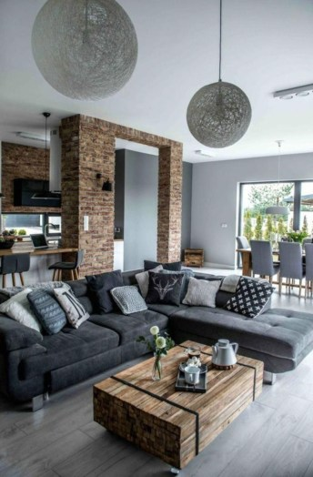 Awesome Brick Expose For Living Room31