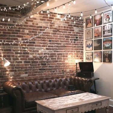 Awesome Brick Expose For Living Room36