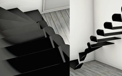 Awesome Flying Stairs Ideas08