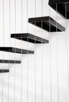 Awesome Flying Stairs Ideas35