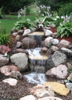 Awesome Garden Waterfall Ideas10