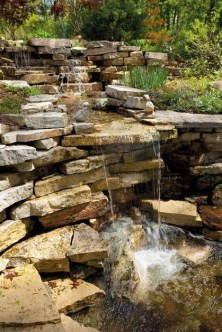 Awesome Garden Waterfall Ideas13