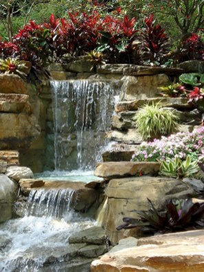 Awesome Garden Waterfall Ideas27