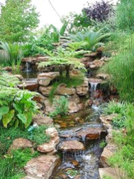 Awesome Garden Waterfall Ideas36