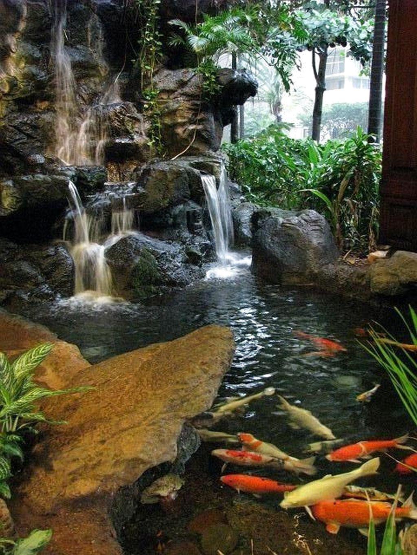 Awesome Garden Waterfall Ideas40