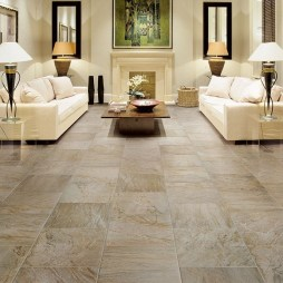 Elegant Granite Floor For Living Room03