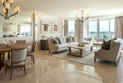 Elegant Granite Floor For Living Room25