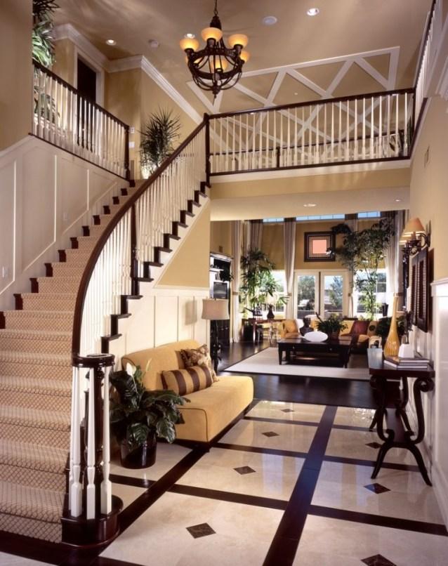 Elegant Granite Floor For Living Room28