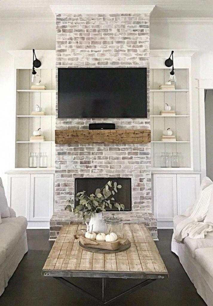 Luxury Family Room Fireplace Ideas19