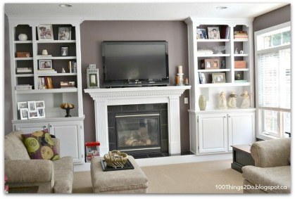 Luxury Family Room Fireplace Ideas21