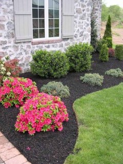 Beautiful Simple Front Yard Landscaping Design Ideas28