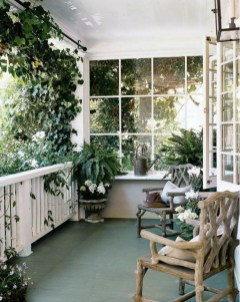 Cozy And Beautiful Green Balcony Ideas01