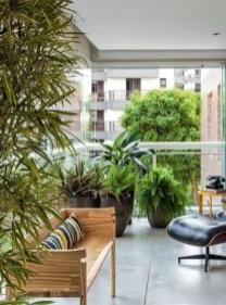 Cozy And Beautiful Green Balcony Ideas04
