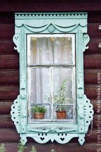 Elegant Carved Wood Window Ideas10