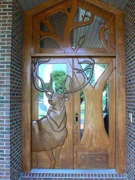 Elegant Carved Wood Window Ideas43