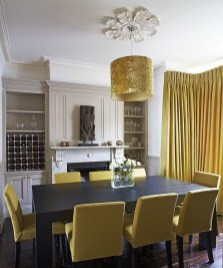 Luxurious Black And Gold Dining Room Ideas For Inspiration01