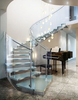 Luxury Glass Stairs Ideas16