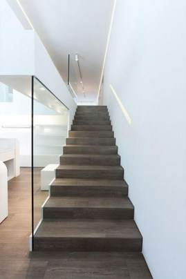 Luxury Glass Stairs Ideas44