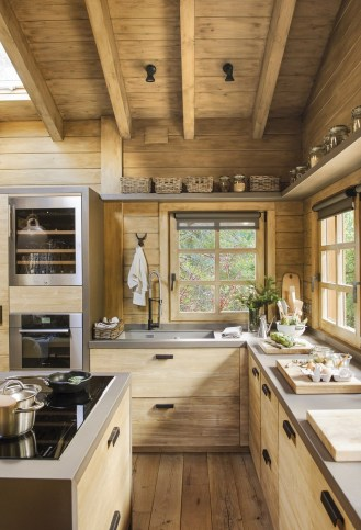 Cozy Rustic Kitchen Designs36