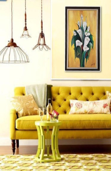 Extraordinary Yellow Living Room Ideas19
