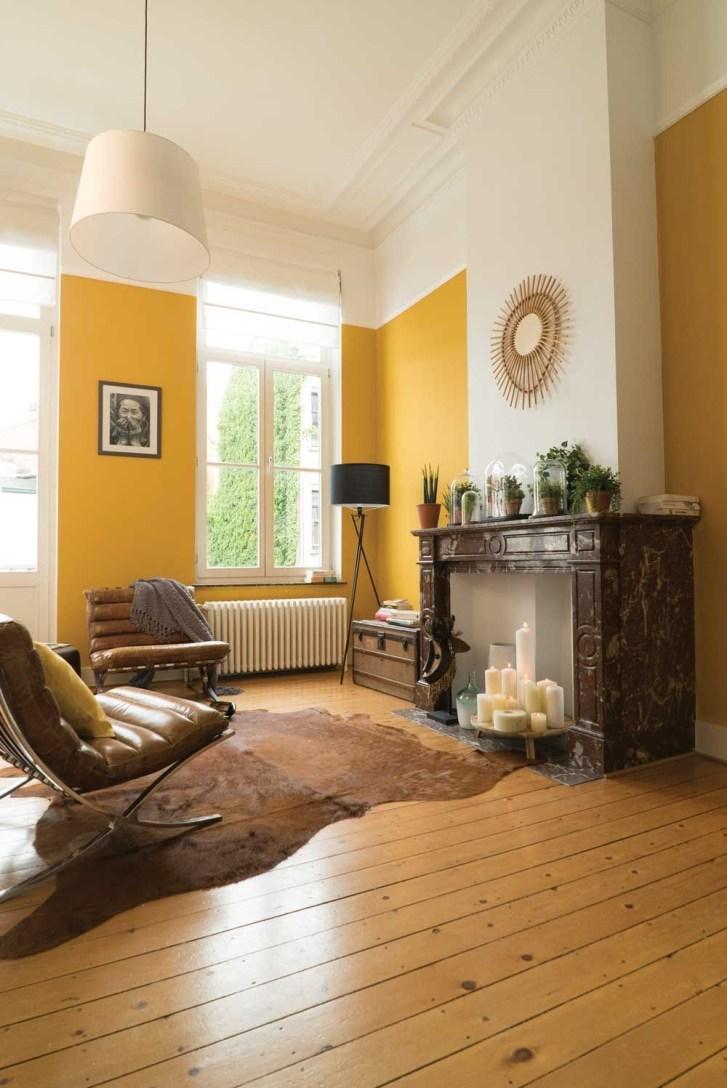 Extraordinary Yellow Living Room Ideas38